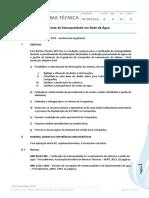 Nt.dte.014.a.0-17 - Ensaio Hidrostático e Teste de Estanqueidade