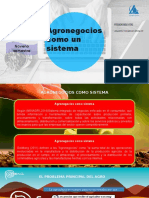 Agronegocios Como Sistema