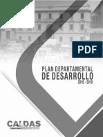 Plan Departamental de Desarrollo 2016 2019