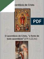 O sacerdocio de Cristo