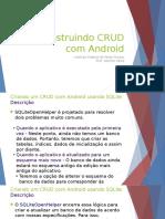 Apresentação - CRUD - SQLite