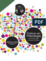 publicação em psicologia
