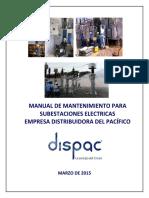 Manual de mantenimiento de subestaciones