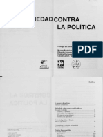 VVAA - La sociedad contra la política