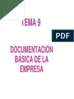 TEMA 12 Documentación