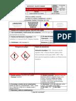 Ficha Quimica Sulfato de Cobre