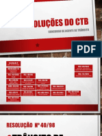 Resoluções Do Ctb