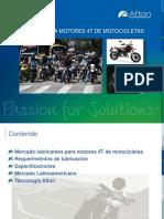 Aceites Lubricantes Para Motocicletas 4t Sep-2015