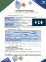 Guía de actividades y rúbrica de evaluación Fase 2 - Analisis