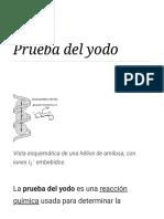 Prueba Del Yodo - Wikipedia, La Enciclopedia Libre