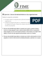Administracion de Mantenimiento Participacion en Equipo -Actividad 1