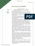 Crisis de 1929 en Colombia