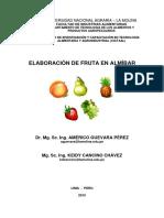 Fruta en Almibar
