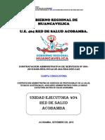 CAS N°004 UNIDAD EJECUTORA RED DE SALUD - ACOBAMBA
