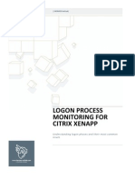 Logon Process Monitoring for Xenapp