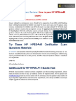 Hpe6 a41 Exam Questions