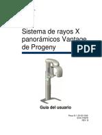 Sistema de rayos X panoramico Vantage de Progeny.pdf