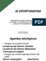 3.A.MICOSIS OPORTUNISTAS- CANDIDIASIS-(CRIPTOCOCOSISI-ASPERGILOSIS-MUCORICOSIS).pps