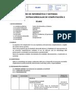 SILABO_COMPUTACIÓN_II_(ARQUITECTURA)