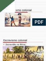 O escravismo colonial - slides