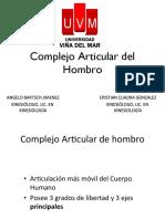 6a.- Neuromecánica Complejo de Hombro