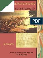 História de Mato Grosso - Monções