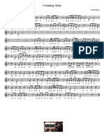 Counting Stars - One Republic - Partitura Educacao Musical Jose Galvao CL