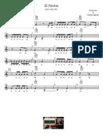 El Perdon - Enrique Iglesias - Partitura Educacao Musical Jose Galvao CL