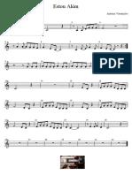 Estou Alem - Antonio Variacoes - Partitura Educacao Musical Jose Galvao SL