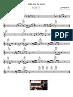 Fala-me de Amor - Santos e Pecadores - Partitura Educacao Musical Jose Galvao SL