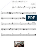 I Dont Want to Talk About It - Rod Stewart - Partitura Educacao Musical Jose Galvao SL