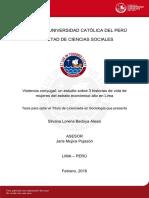 Bedoya Alessi Silvana Lorena Violencia