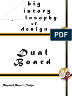 History of philosophy of design