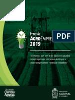 Brochure Feria Agroemprendimiento