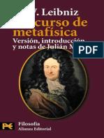 Discurso de Metafísica, Leibniz