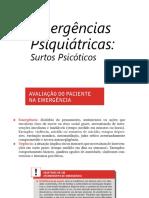 Emergencias Psiquiatricas Surto Psicotico 2019