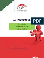 Actividad Nº 02.- Ley de Gauss Potencial Eléctrico Dipolo Electrico (1)