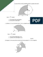 Perimeter & Luas Sektor