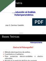 Voltametria. Clase. Juan g. Sanchez