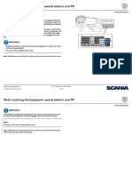 Scania Bodybuilder Electrics