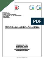 TB31-55A Manual English