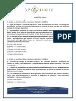 CP Iuris - ECA III - Questoes