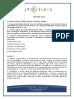 CP Iuris - ECA IV - Questoes Comentadas