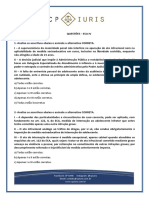 CP Iuris - ECA IV - Questoes