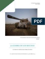 Guerra de Los Seis Días Israle