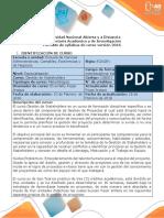 Syllabus Del Curso Gestion de Stakeholders