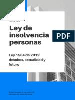 Ley de Insolvencia 1564 de 2012