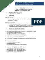 UMES - Homiletica Programa General 2019 v2