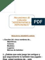 Hiponimosehiperonimos 2d e