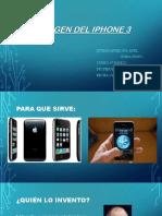 El Origen Del iPhone 3